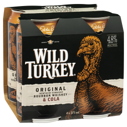 Wild Turkey & Cola 4.8% -