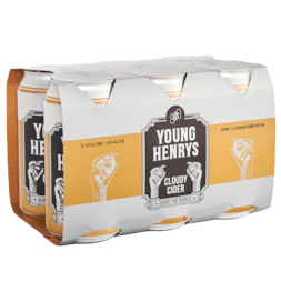 Young Henry Apple Cider -