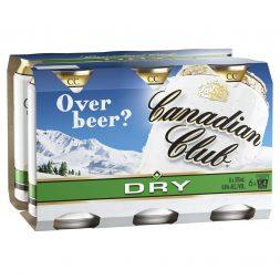 Canadian Club & Dry -